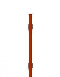 Столб круглый с усами 2,3м д.45мм 1,5мм грунт