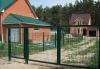 Ворота и калитка из сварной сетки (сварных секций 3D) высота 2 метра